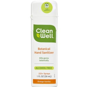 CleanWell Botanical Hand Sanitizer 6pc