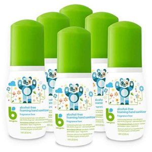 Babyganics Alcohol-Free Foaming Hand Sanitizer 6pc