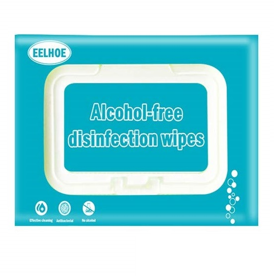 alcohol free disinfection wipes