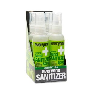 Everyone Hand Sanitizer Spray 6pc