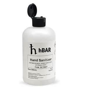 hBAR Hand Sanitizer 5pc