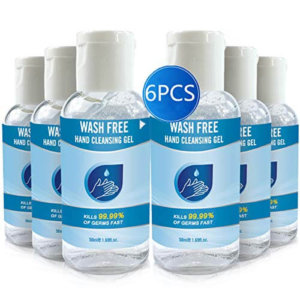 Wash Free Hand Cleansing Gel 6pc