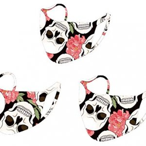 Custome Reusable Face Masks Halloween 3pc