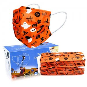 Disposable Face Masks Halloween 50pc