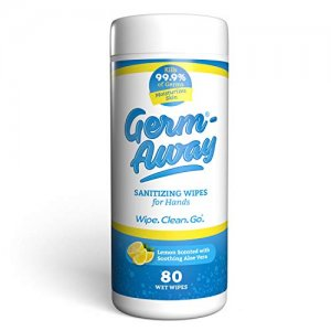 Germ-Away Sanitizing Wipes for Hands