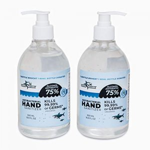 Germ Shark Antibacterial Hand Sanitizer 2pc
