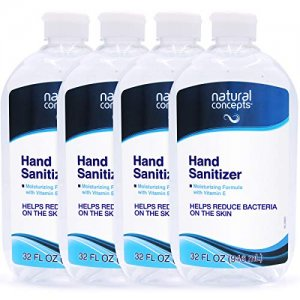 Natural Concepts Hand Sanitizer 4pc