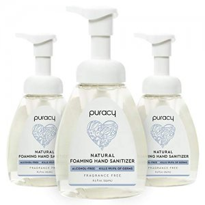 Puracy Natural Foaming Hand Sanitizer 3pc