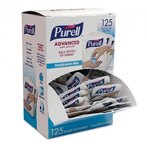 PURELL Advanced Hand Sanitizer 125 pc