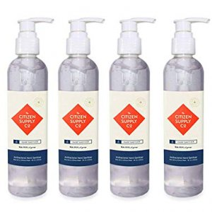 The Citizen Supply Co. Hand Sanitizer 4pc