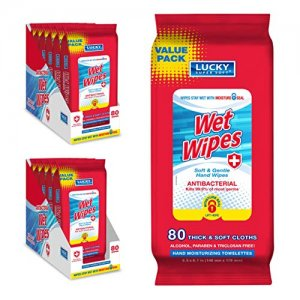 Lucky Super Soft Wet Wipes